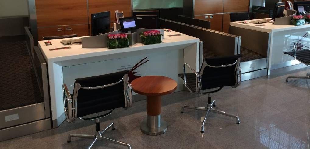 Qatar Airways Premium Terminal – Check in