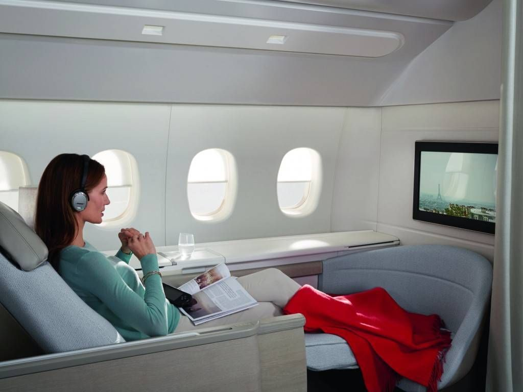 air france new premiere-cabine