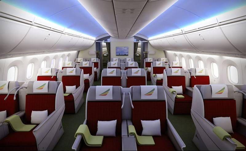 Ethiopian Airlines tem tarifa diferenciada pra classe Executiva durante a Copa
