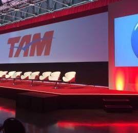 Evento oficial da entrada da TAM na oneworld
