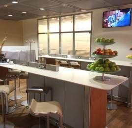 Lufthansa Welcome Lounge no Aeroporto de Frankfurt