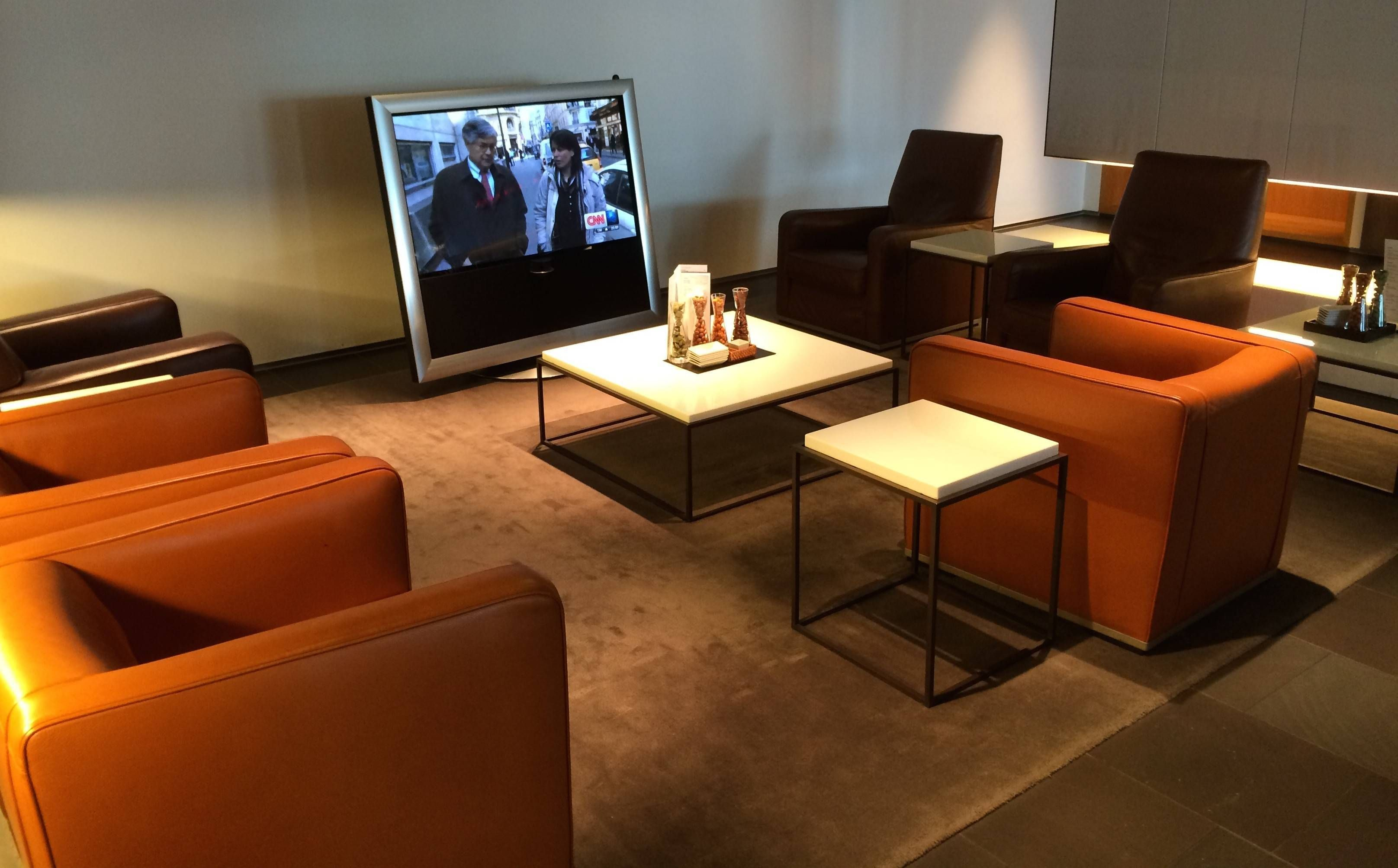 Lufthansa First Class Lounge no Aeroporto de Frankfurt