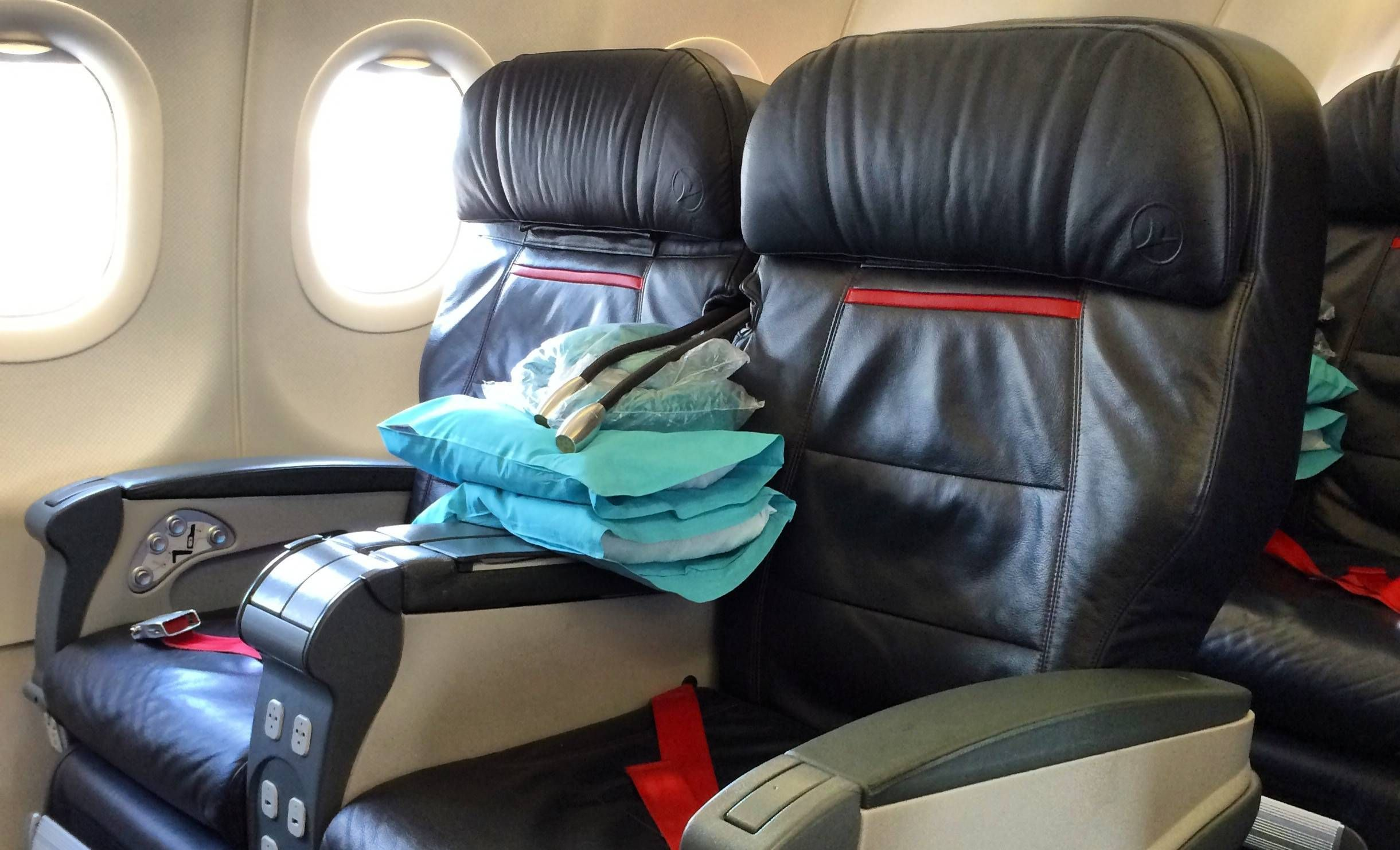 Classe Executiva da Turkish Airlines no A321