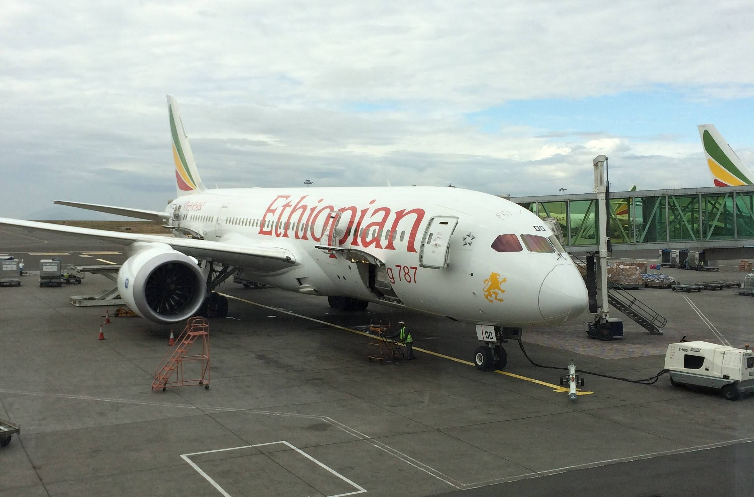 Aeroporto Etiopia : Sala vip cloud nine da ethiopian airlines no aeroporto de