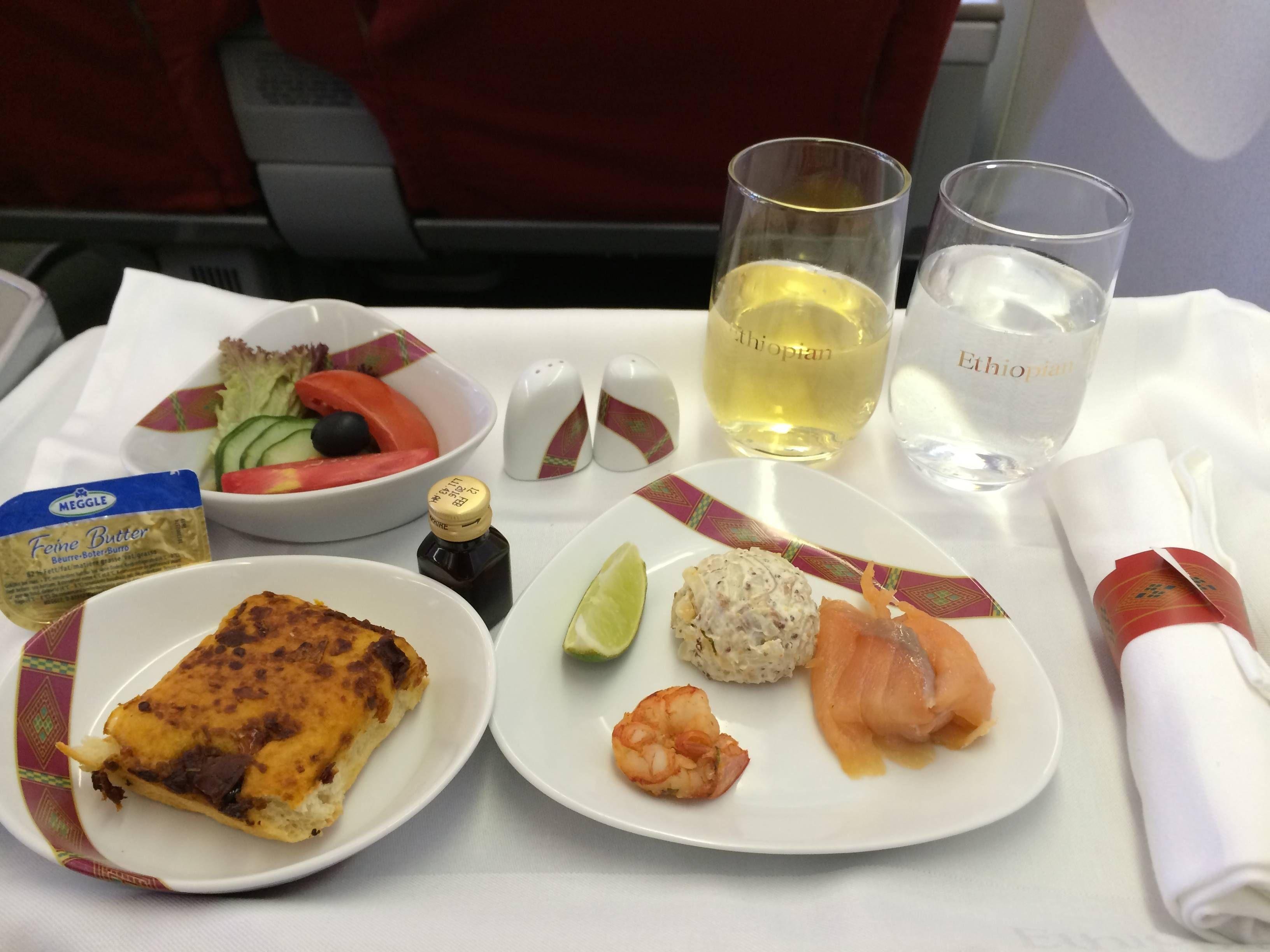 Ethiopian Airlines Business Class Executiva B767 - passageirodeprimeira