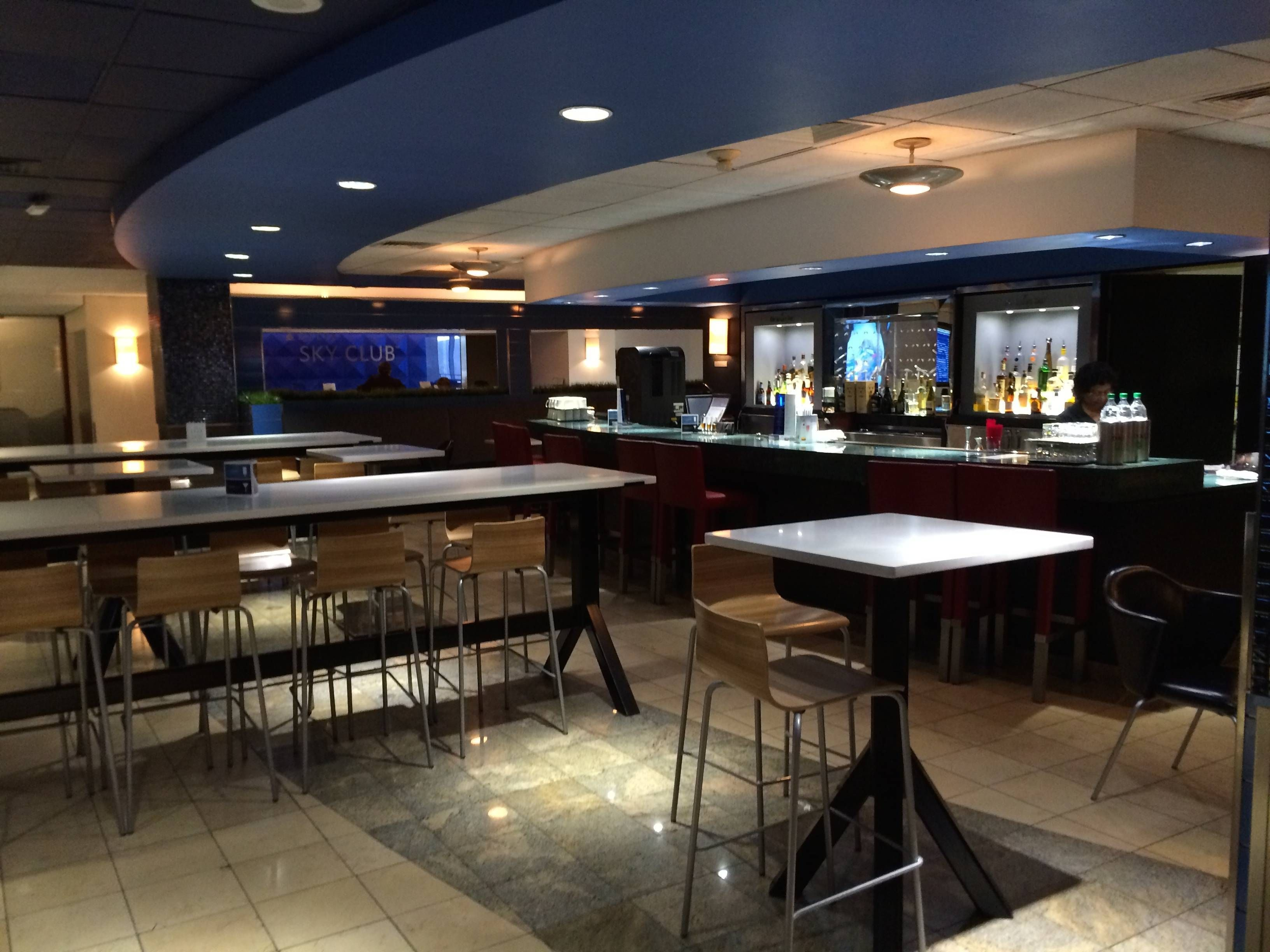 Delta Sky Club – Aeroporto de Nova York (JFK) – Terminal 2
