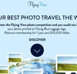 FlyingBlue da Air France/KLM vai sortear status Platinum e 200.000 milhas