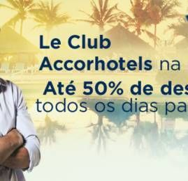Accor Hotels oferece até 50% nas diárias nos meses de Junho e Julho
