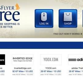 Singapore Airlines lança shopping online, o  'Krisflyer Spree'