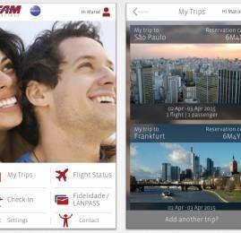 TAM lança seu novo aplicativo para celular