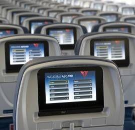 Clientes que voam pela Delta terão mais opções de entretenimento gratuito