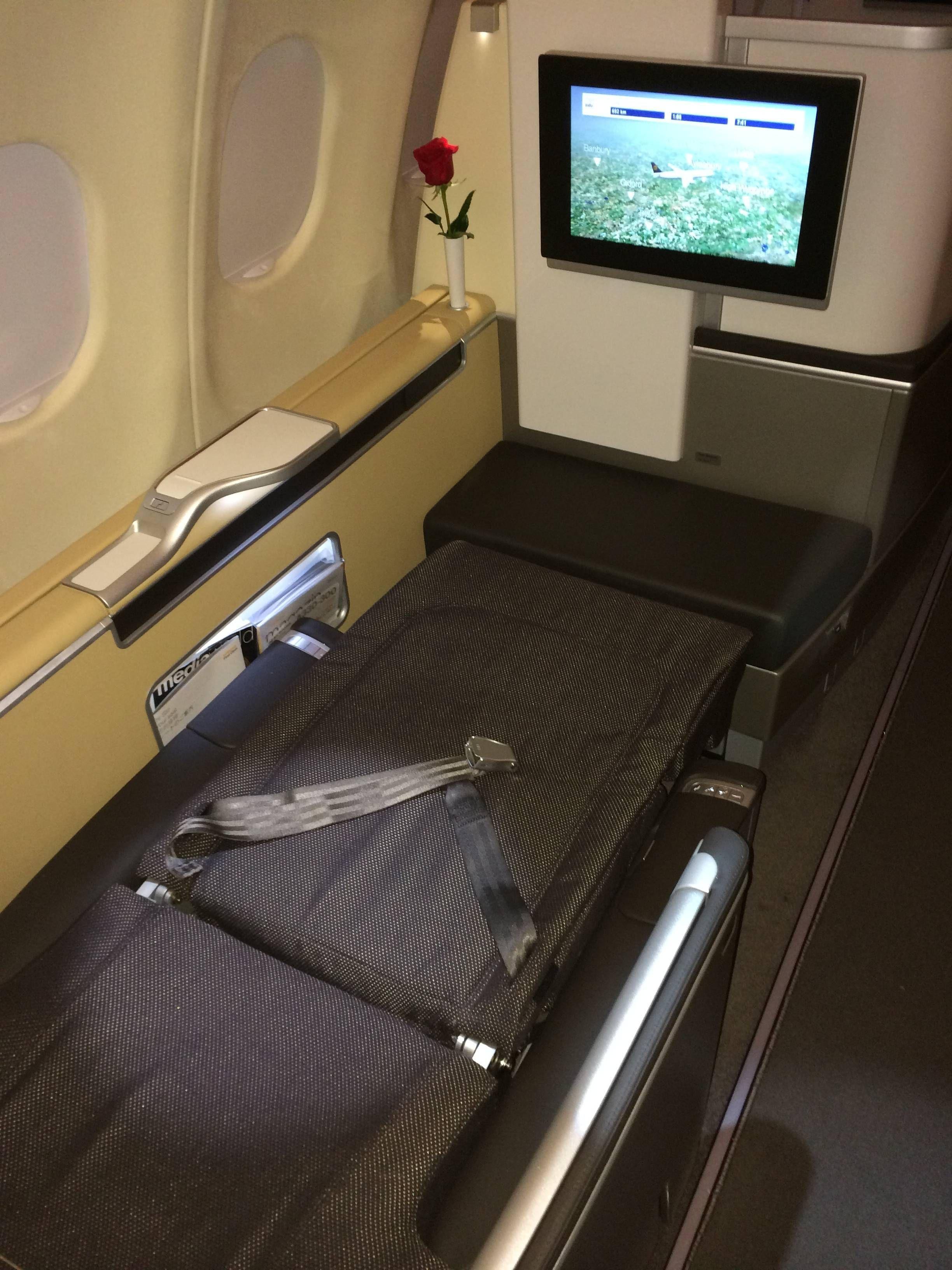 Lufthansa A330 First Class Primeira Classe - Passageirodeprimeira