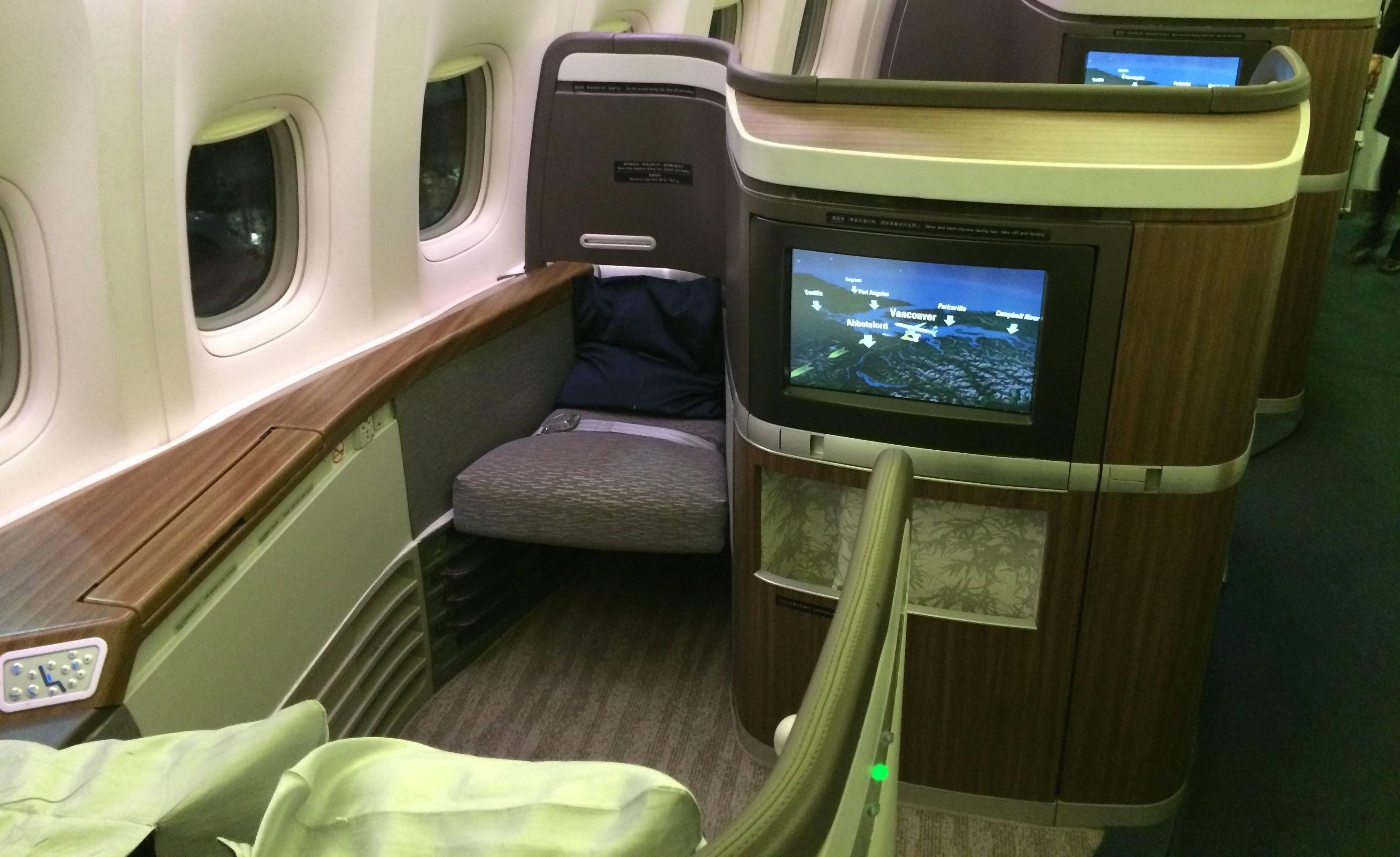 cathay first class passageirodeprimeira