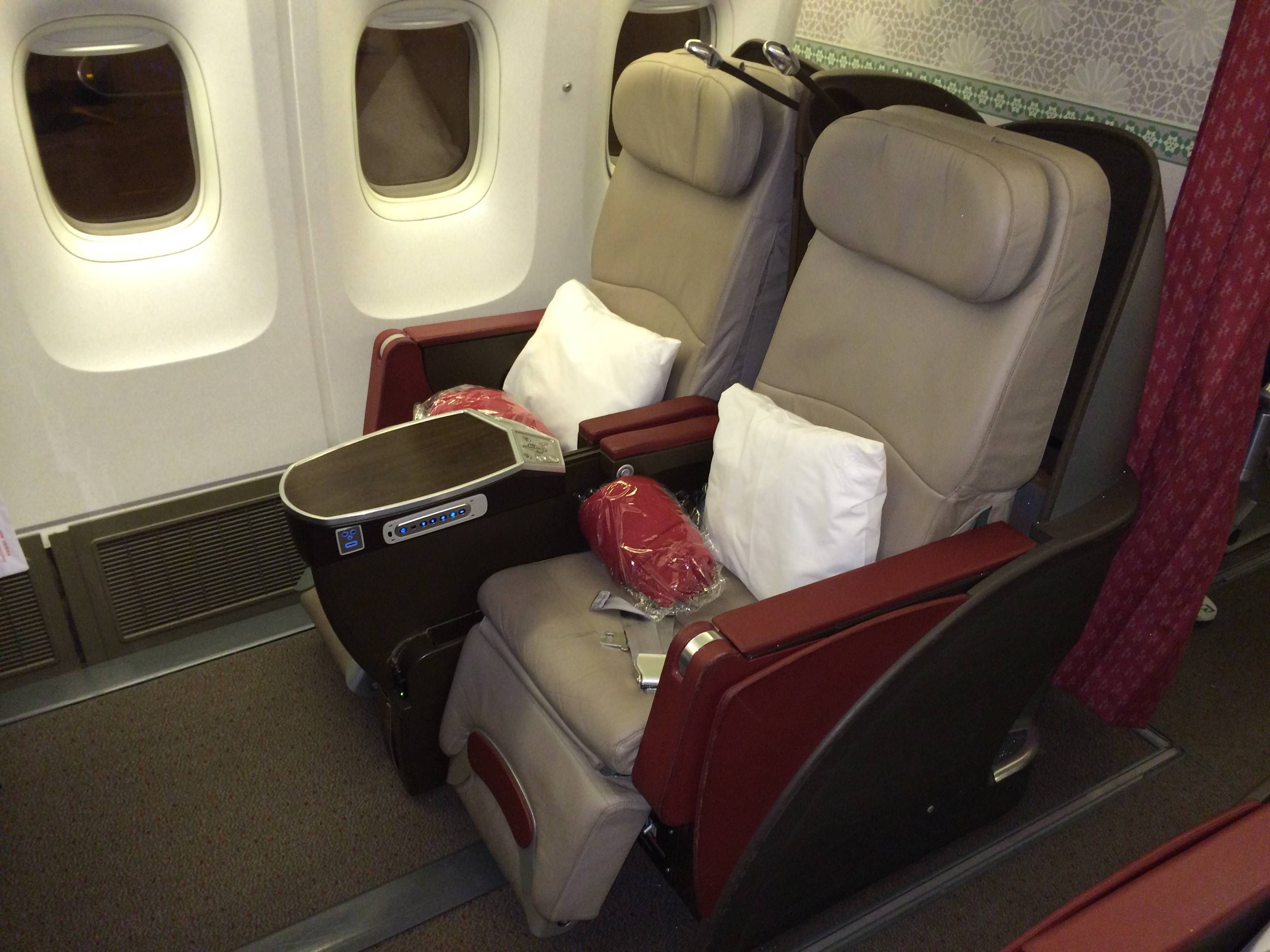 Royal Air Maroc Classe Executiva B767-300 Business Class