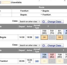 LifeMiles da Avianca está bloqueando emissões na Primeira Classe da Lufthansa