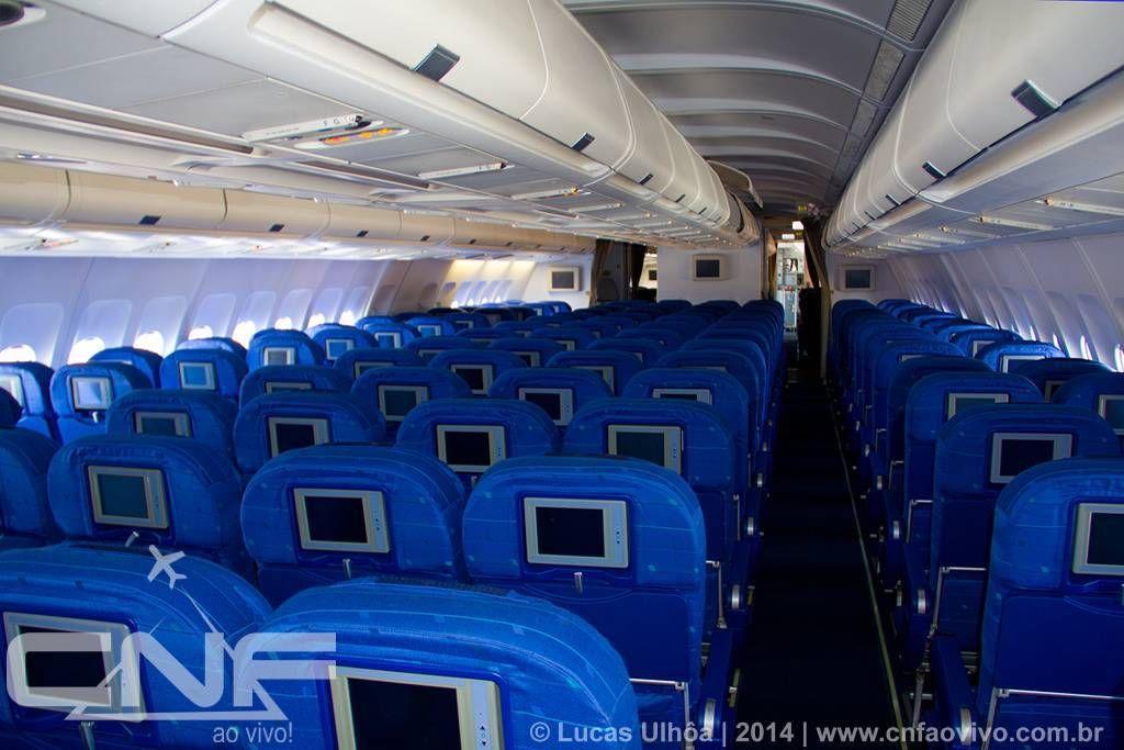 azul a330 interior