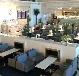 Sala VIP Finnair Lounge no Aeroporto de Helsinki (HEL)