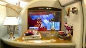 Viaje na Primeira Classe da Emirates com 85% de desconto