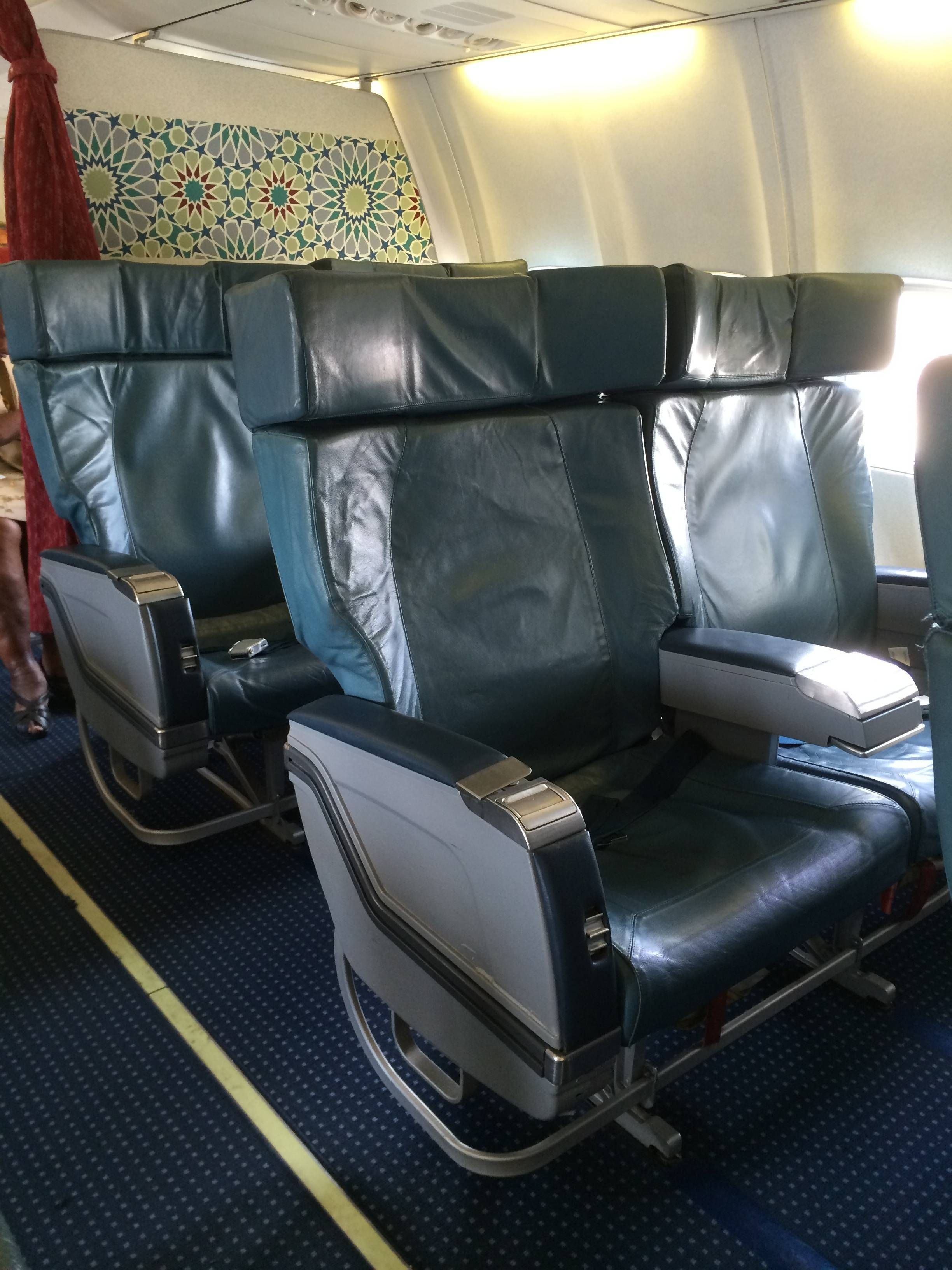 royal air maroc classe executiva b737 business class passageirodeprimeira