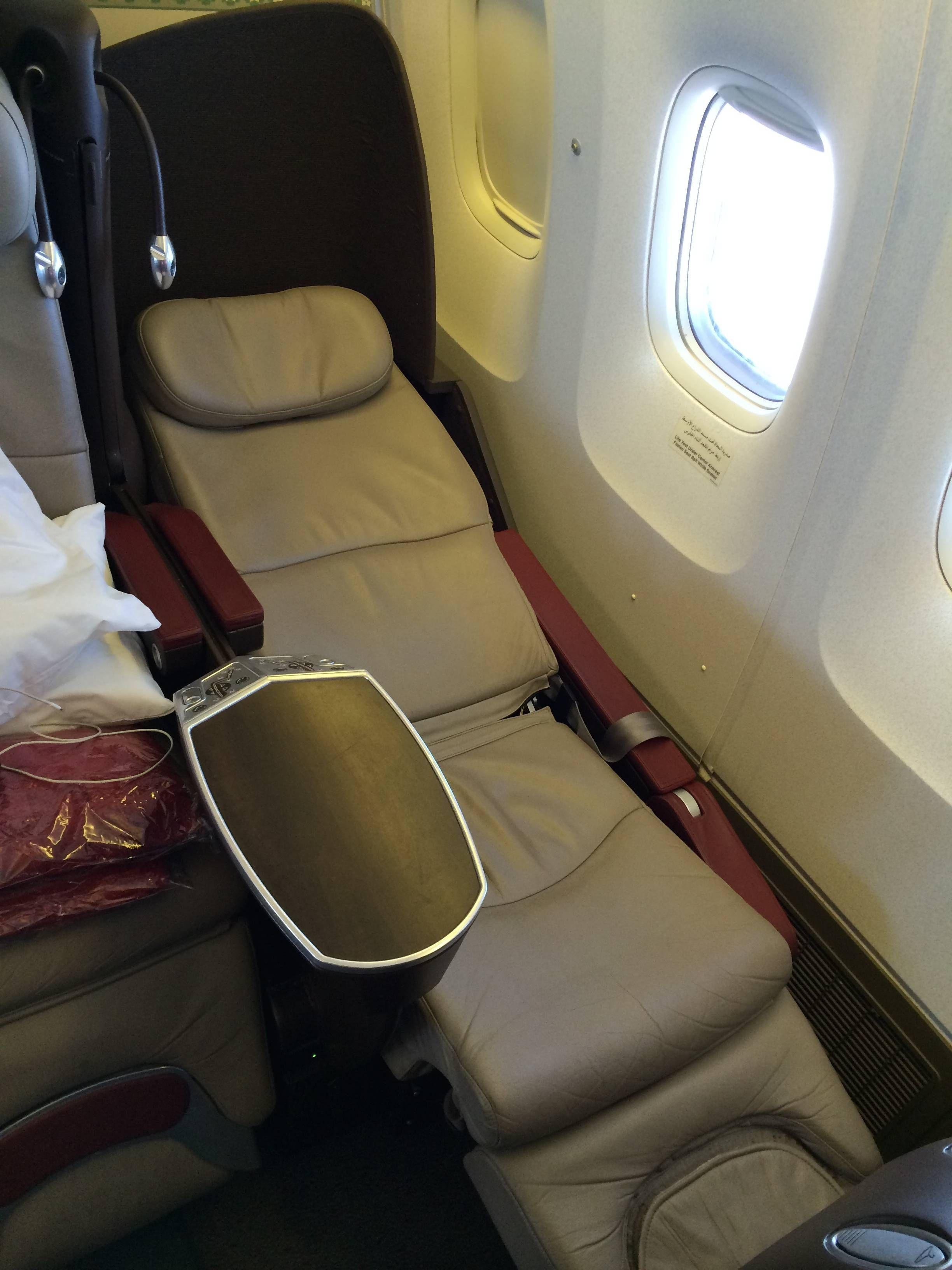 royal air maroc b767 business class passageirodeprimeira