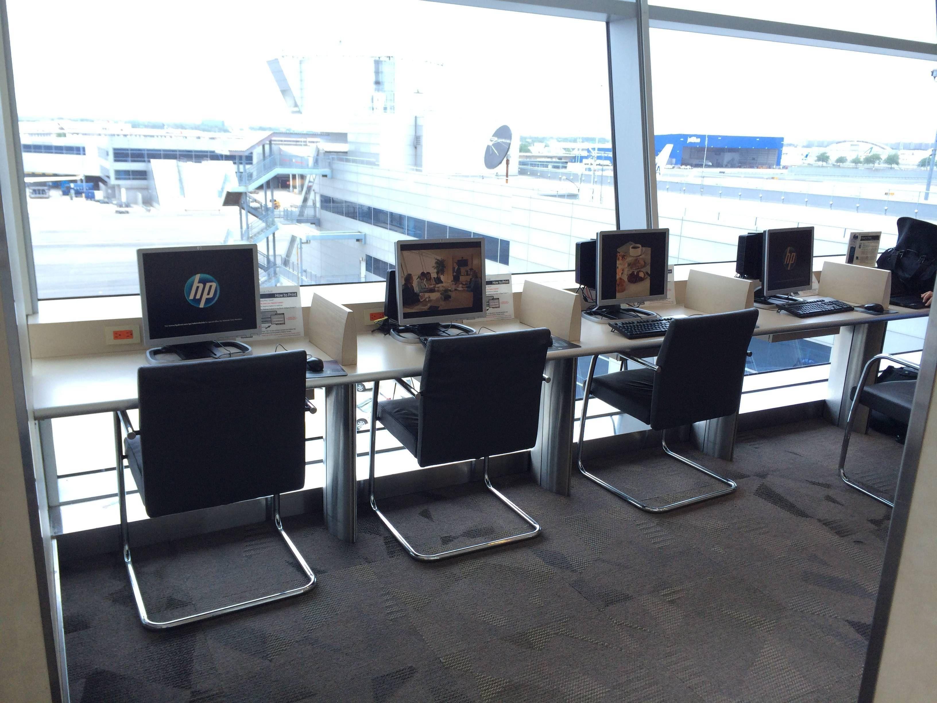 AA Flagship Lounge JFK sala vip - passageirodeprimeira