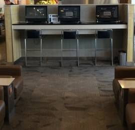 American Airlines Flagship Lounge no Aeroporto de Nova York (JFK)