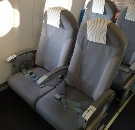 Classe Executiva da Finnair no E190