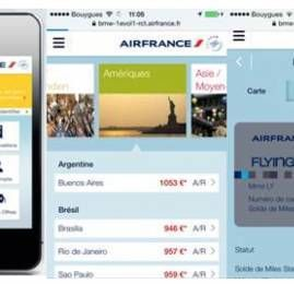 Air France apresenta novo site mobile na SP-Arte/Foto