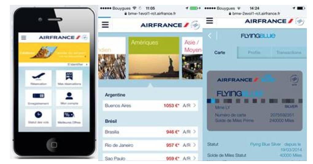 Air France apresenta novo site mobile na SP-Arte/Foto