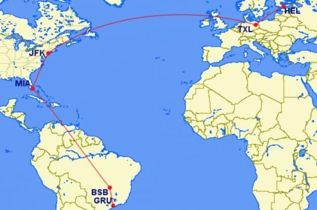 map oneworld