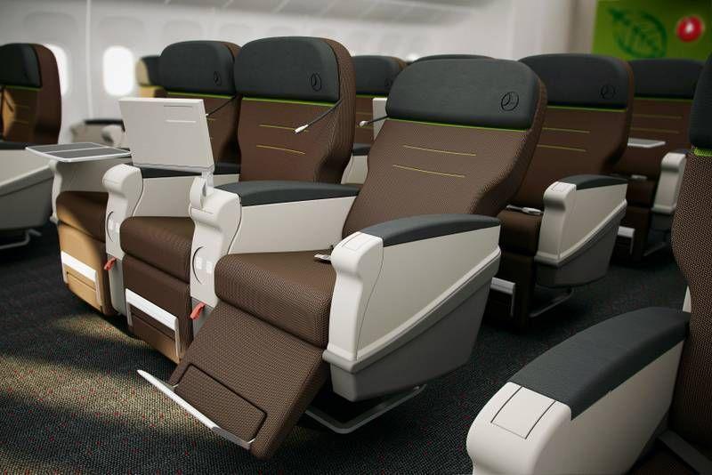 Classe Comfort no B777-300ER