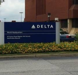 Conhecendo a sede da Delta em Atlanta