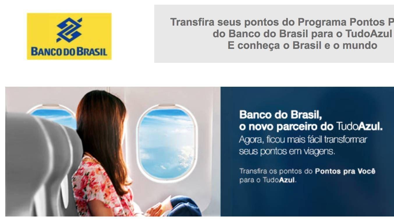 Banco do Brasil é o mais novo parceiro do TudoAzul