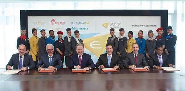 Etihad lança o Etihad Airways partners