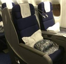 Classe Executiva da KLM no B777-300ER