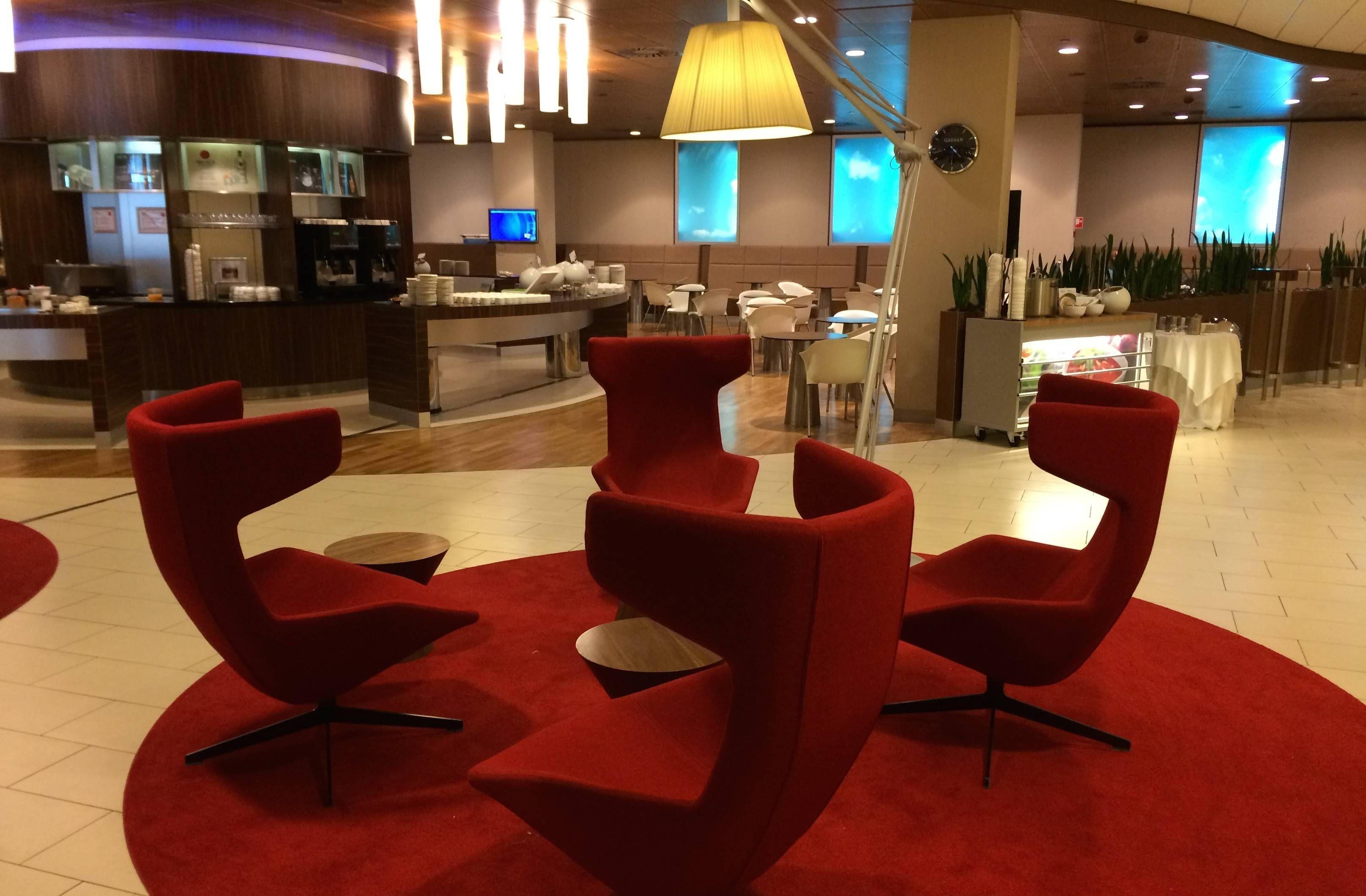 Sala VIP KLM Crown Lounge – Aeroporto de Amsterdam (AMS)