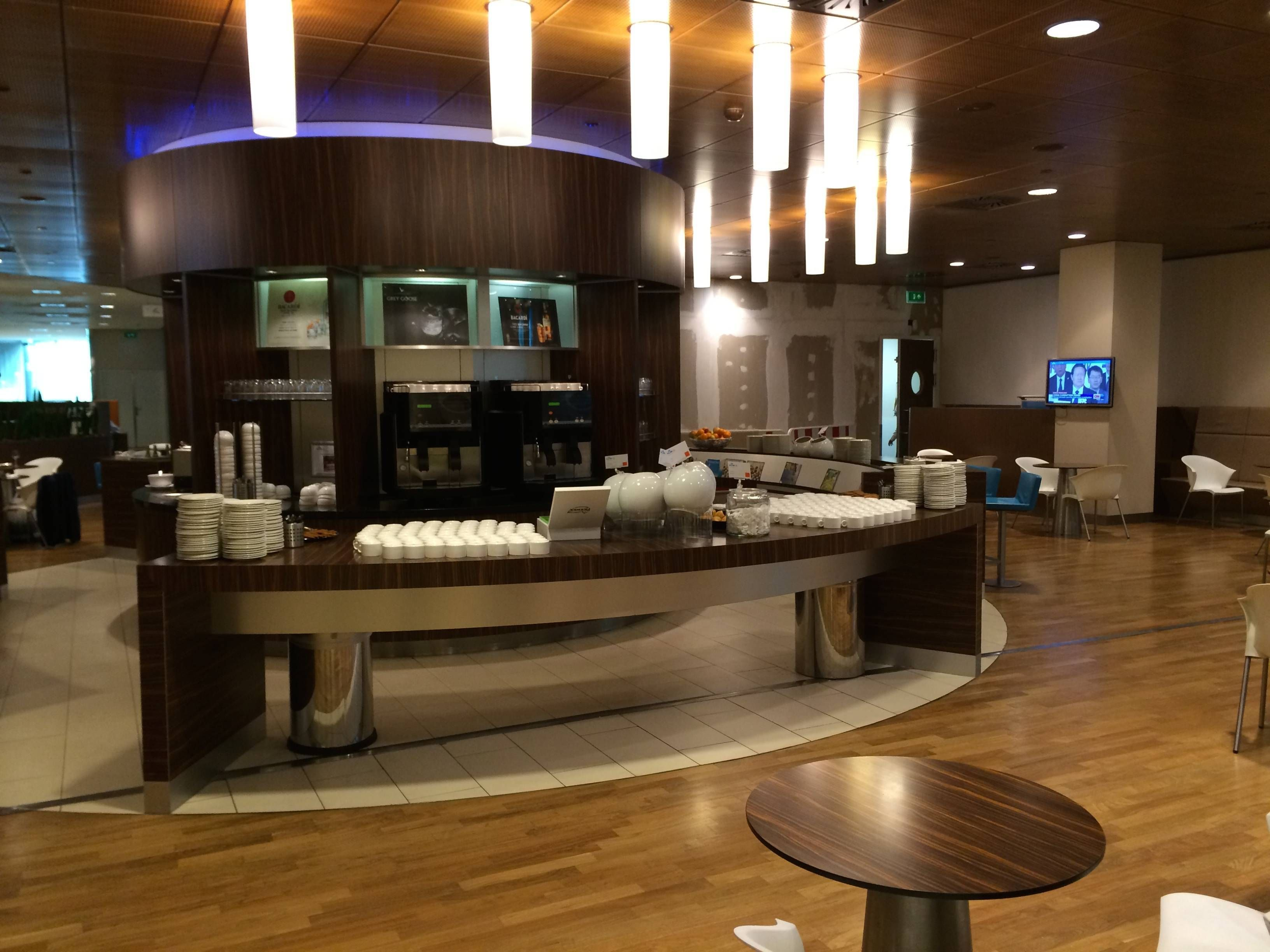 klm crown lounge sala vip amsterdam