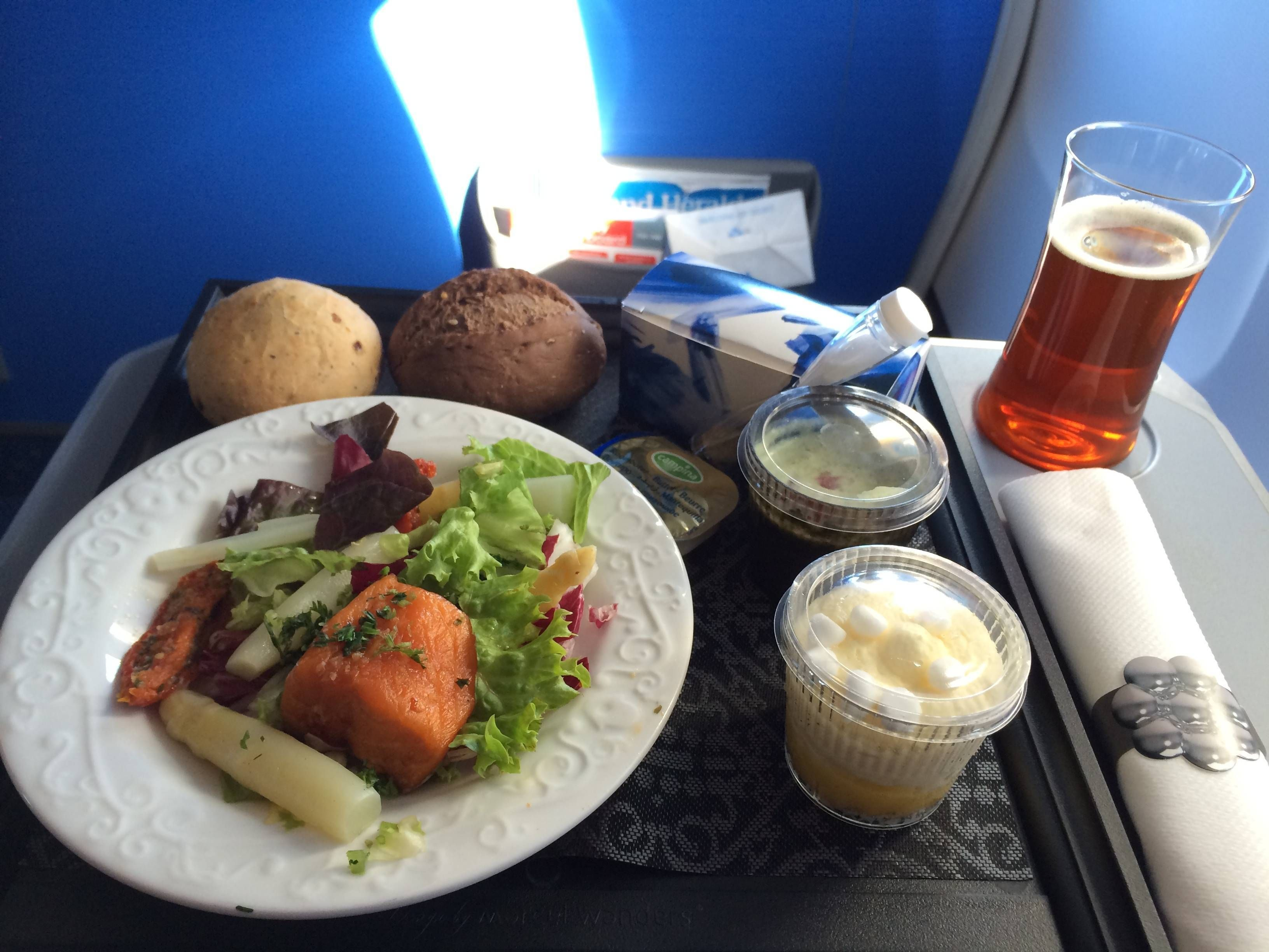 Classe Executiva da KLM no B737-700