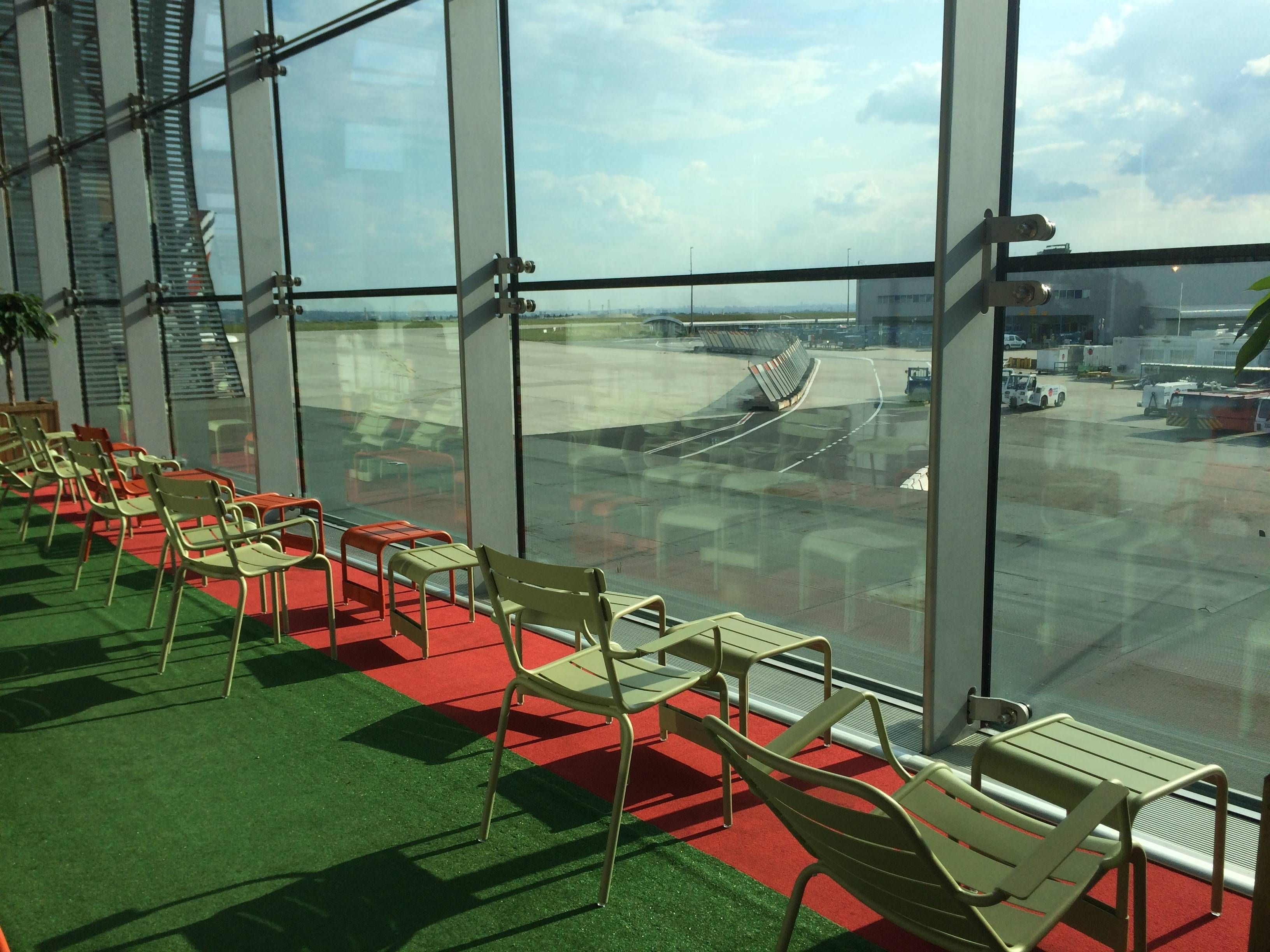 air france pop up lounge