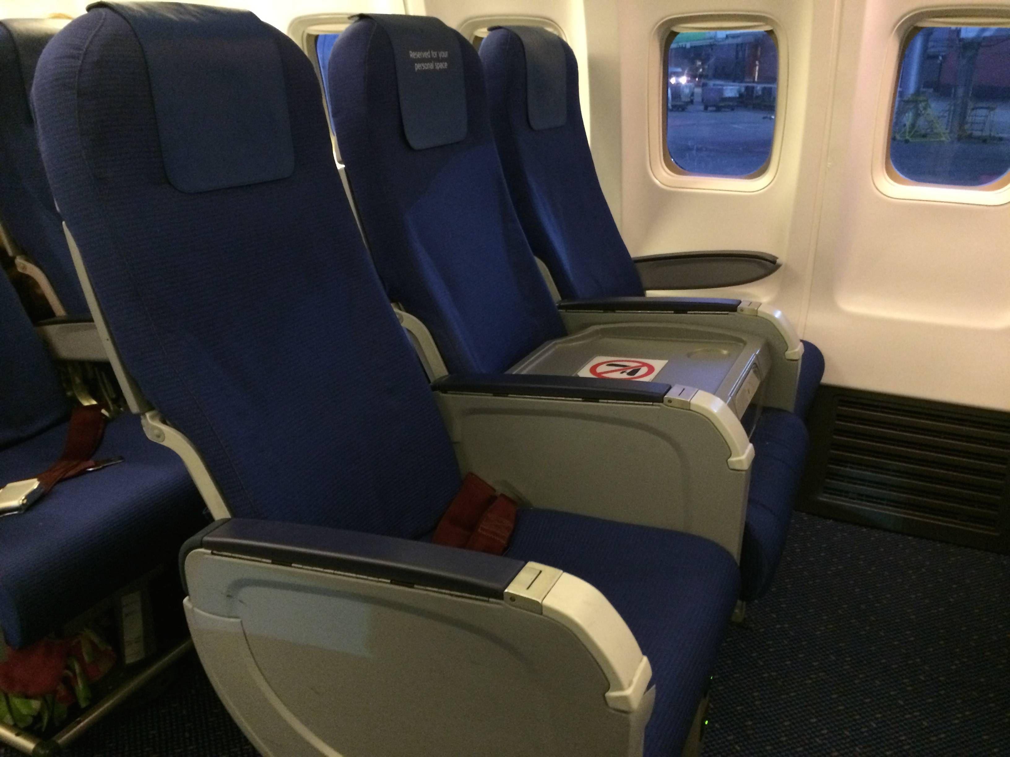 KLM B737 BUSINESS CLASS