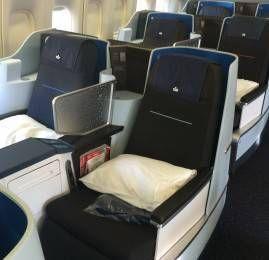 Nova Classe Executiva da KLM no B747-400