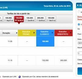 TAM Fidelidade já permite resgate de passagens na British e Iberia direto pelo site
