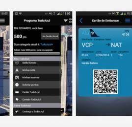 Azul disponibiliza para sistema Android acesso a dados do TudoAzul por meio de aplicativo