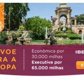 Smiles lança promoção de passagens Iberia para a Europa por 65 mil milhas em classe executiva