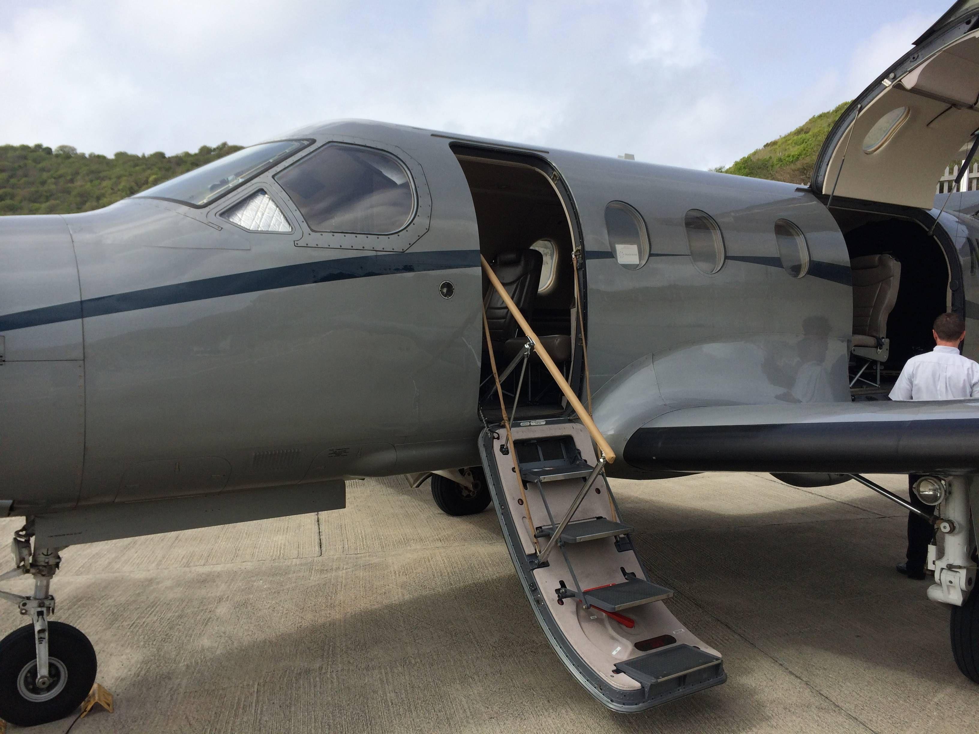 Como é voar no Pilatus da Tradewind Aviation
