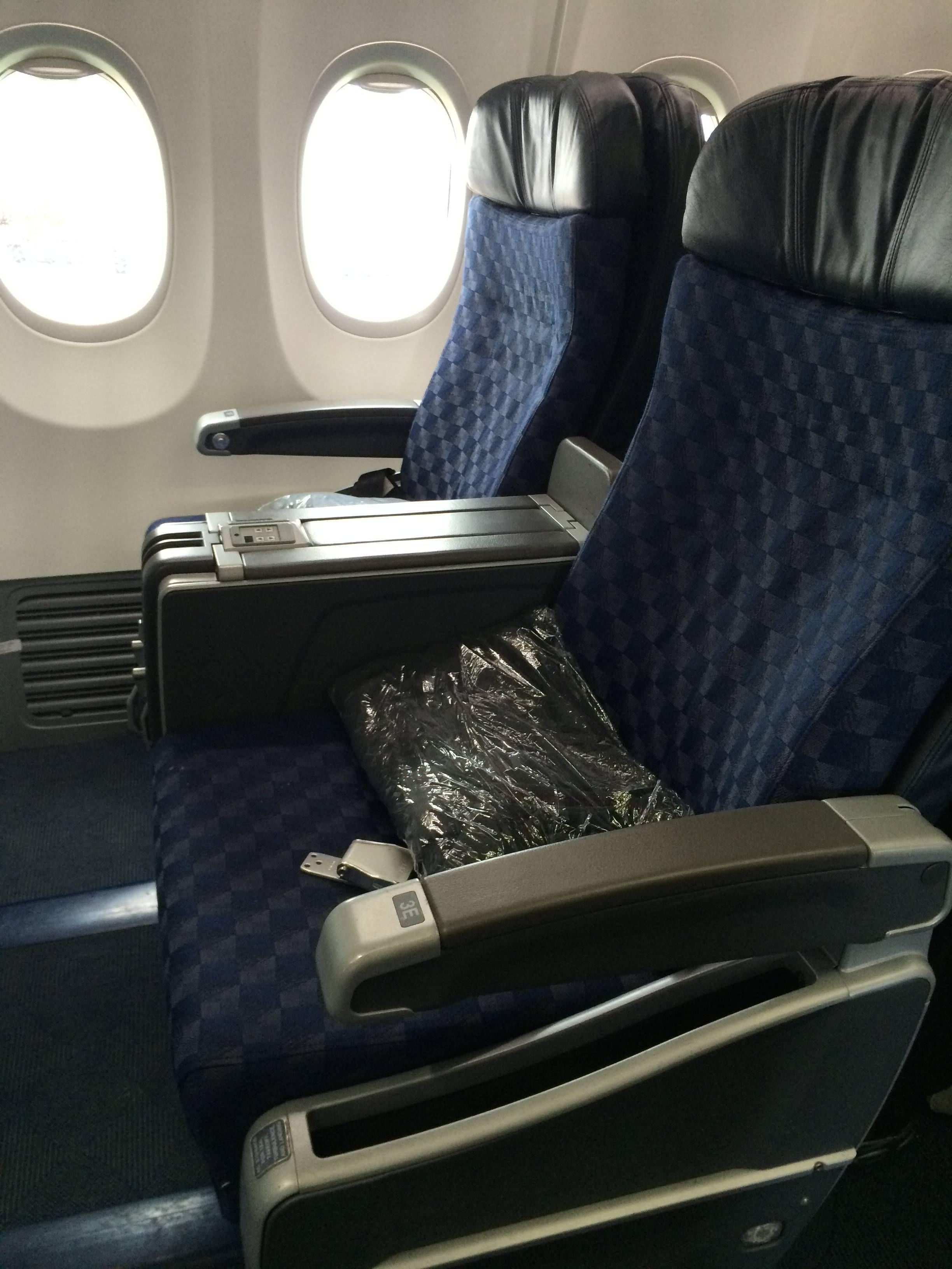 american airlines b737 sky interior
