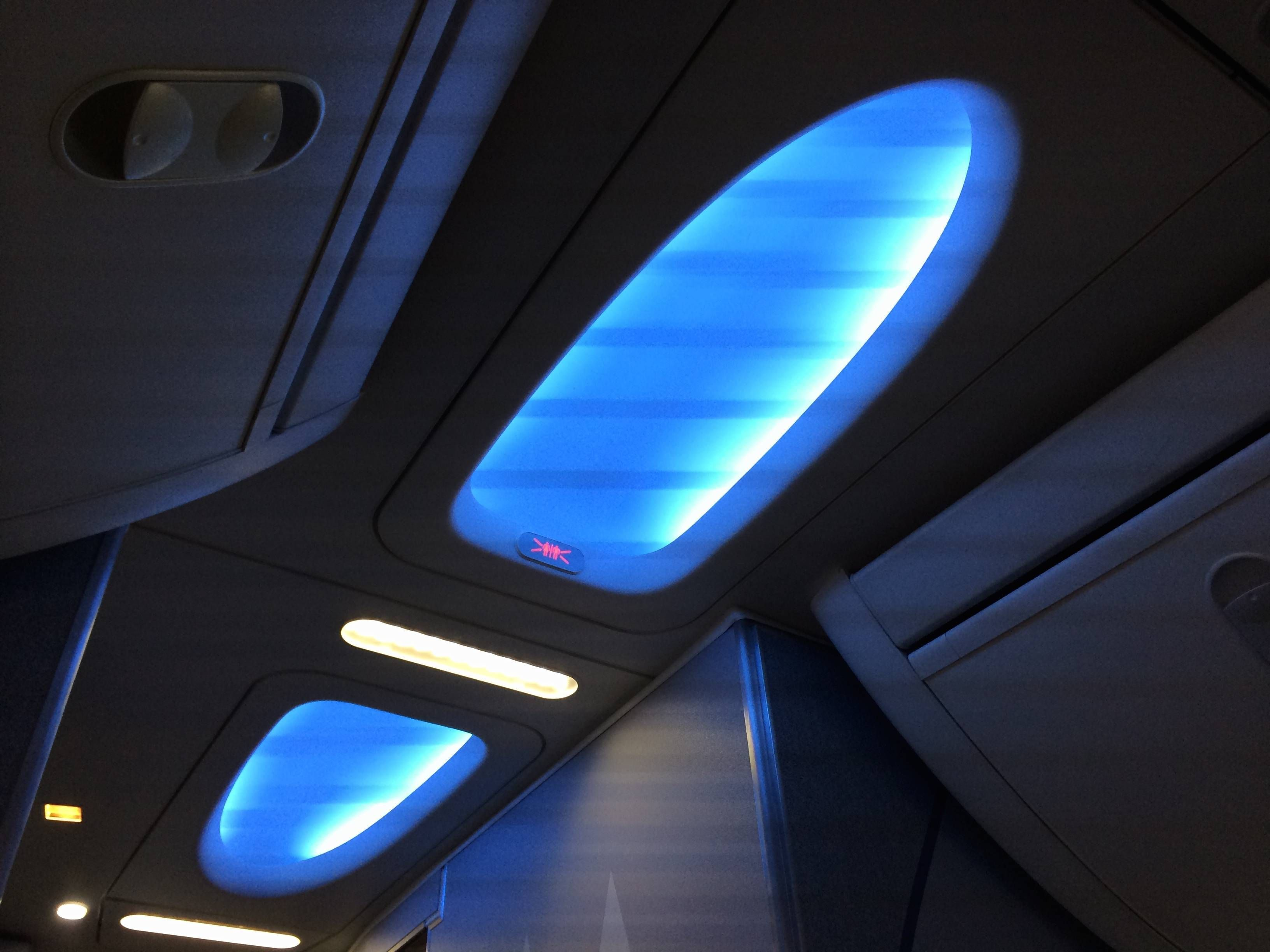 american airlines b737 sky interior