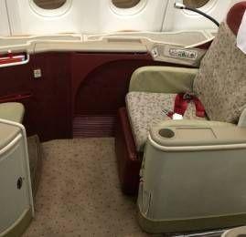 Primeira Classe da TAM no A330