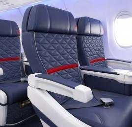 Delta redefine suas cabines com atualizações nas opções premium e econômica