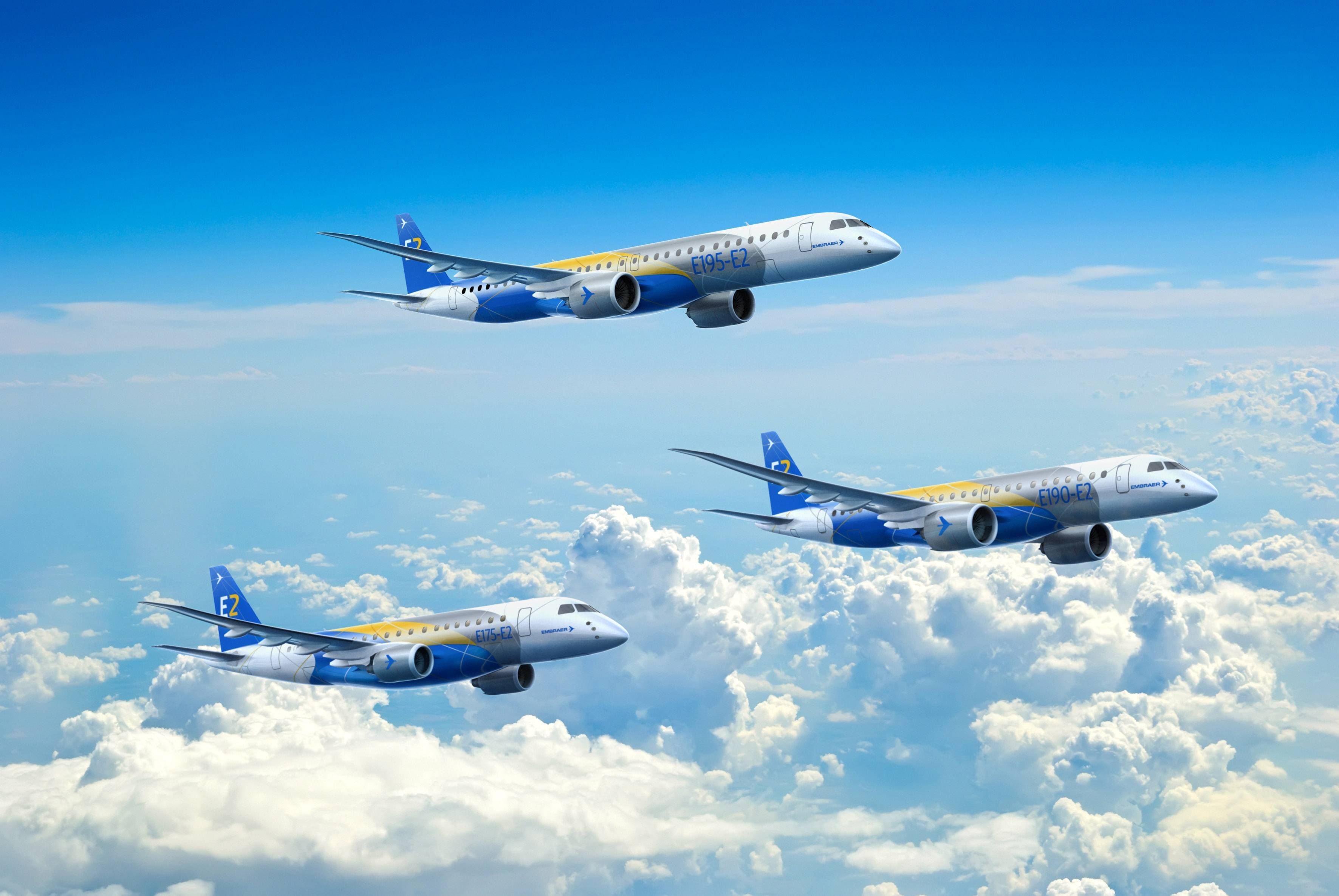 Computer-generated_conception_of_the_upcoming_Embraer_E-Jet_E2_family